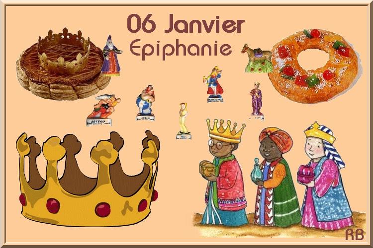 L'Epiphanie - nagłówek - Francuski przy kawie