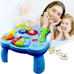 Music Study Table Baby Toys - Children's Electronic Education Toys