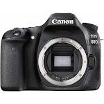 Canon EOS 80D 24.2 MP Digital SLR Camera - Black - Body Only