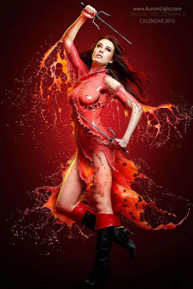 Splash Heroes Calendar : Elektra