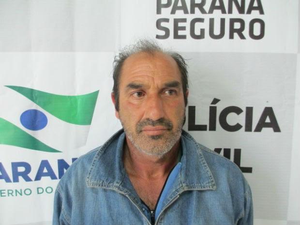 Suspeito foi preso na tarde desta sexta-feira (4) em Santa Catarina e encaminhado para Rio Negro (Foto: Divulgação/Delegacia de Rio Negro)