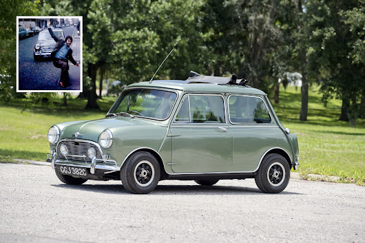 Sir Paul McCartney's Mini Cooper S Is For Sale