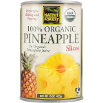 Native Forest Organic Pineapple Slices - 15 oz can