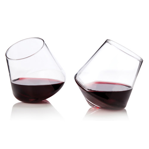 Stemless wine glasses - Angela Personal Tuscan Tour