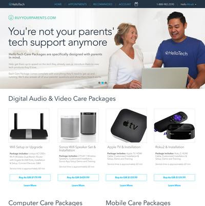 HelloTech is your parents' tech support company - L.A. Biz