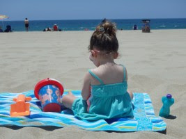 Pouch Pal at the Beach