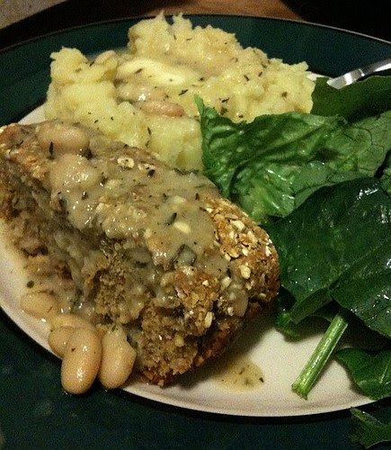 Chickpea and Vegetable Loaf