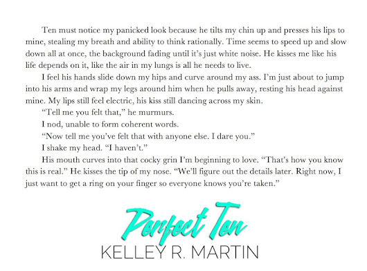#BookBlitz: Perfect Ten by @kelleyrmartin with excerpt and #giveaway #romance #NA