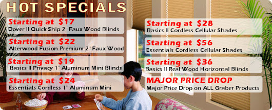Cheap Blinds | Inexpensive Blinds | Low Cost Blinds