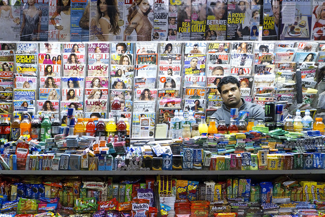 Newsstand, NYC