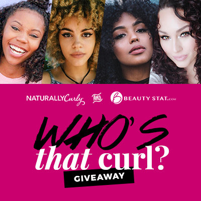 Enter to win Curly Hair prizes: Who's that Curl http://www.naturallycurly.com/giveaways/Whos-that-Curl