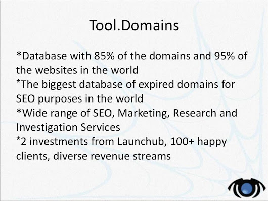 Tool.Domains development - 2015 company party presentation