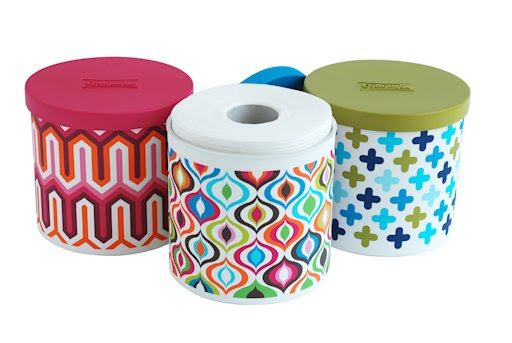 Toilet paper goes chic with designer covers
