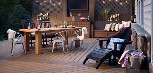 OUTDOOR LIVING: Trex Decking Top 5 Trends for Spring