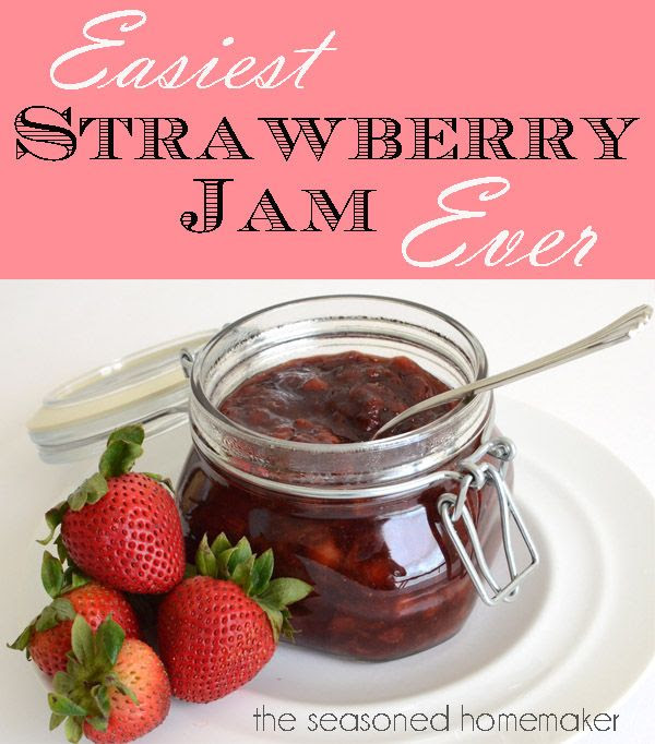Easiest single-batch Jam ever.  And, it's good for you.  How to Make Jam - The Seasoned Homemaker