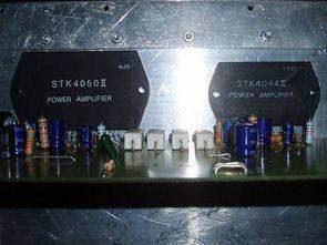 100 + 200 Watt Anfi STK4044 STK4050
