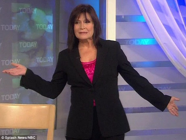 Feeling fabulous at 54: Carrie Fisher unveiled her slimline new look on America's Today Show this morning