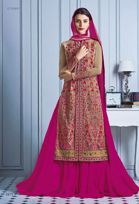 Georgette Casual Salwar Kameez Heroine 5171 – Fashions By India