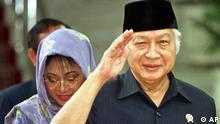 Ex Diktator Suharto ist tot