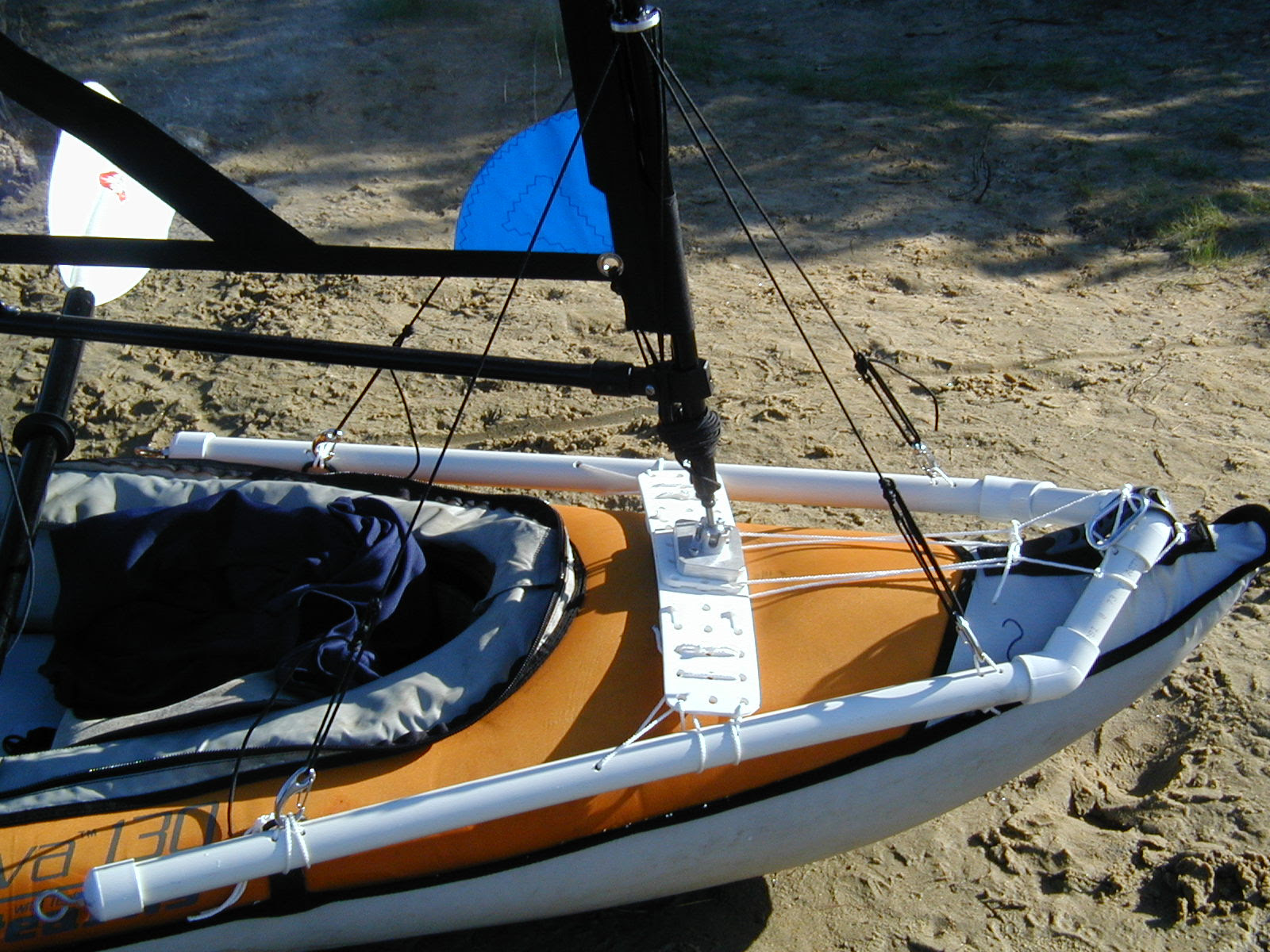Will a Falcon Sail work on a inflatable canoe or kayak?