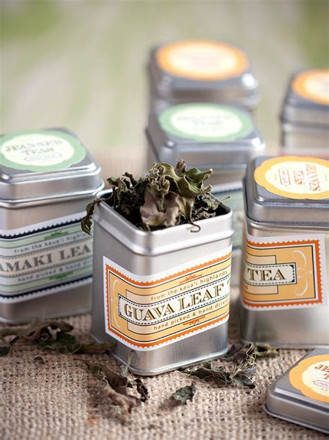Packaged Tea Tins   Wedding Inspiration