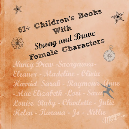 67+ Children's Books with Strong and Brave Female Characters - Captain Mom
