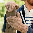 Woodcutter Mittens, from Interweave Knits magazine