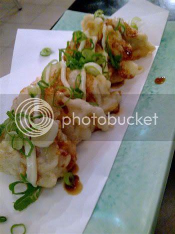 tempura gyoza
