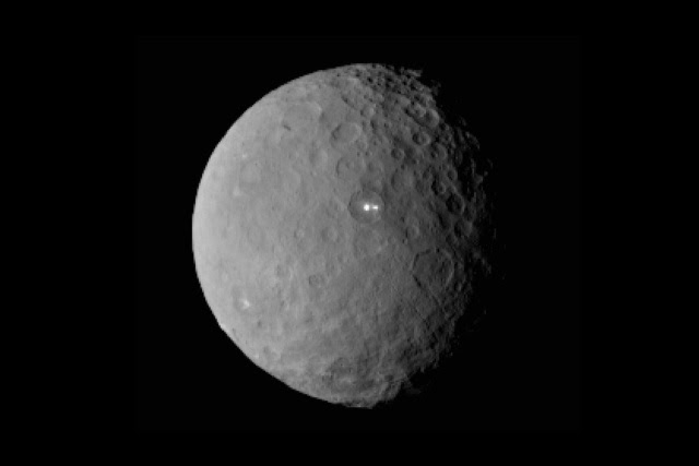 Ceres Shiny Spots