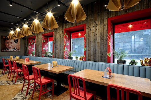 Hot Walk Cafe / ALLARTSDESIGN