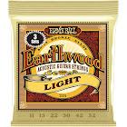 Ernie Ball Earthwood Light 80/20 Bronze Acoustic Guitar Strings