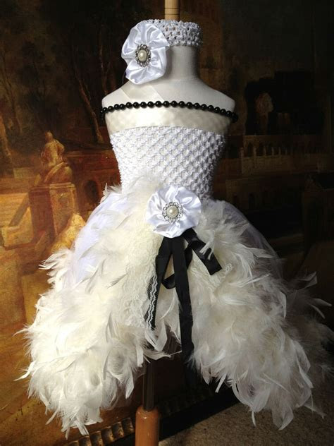 feather tutu dress wedding party baby shower birthday