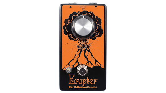 "EarthQuaker Devices' Erupter fuzz pedal ""will blow your mind"""