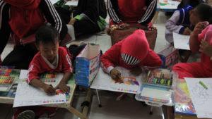 Ribuan Anak Ramaikan Lomba Mewarnai Nasional Lampungnewscom