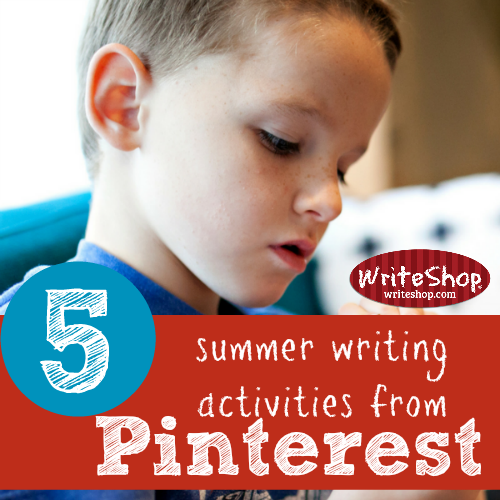 5 summer writing activities from Pinterest