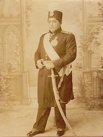 Ahmad Qajar perzsa sah