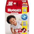 Huggies Snug & Dry Diapers - 136 count