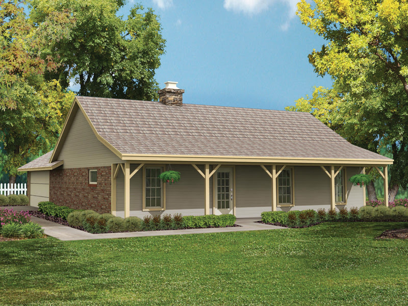Bowman Country Ranch Home Plan 020D-0015 | House Plans and ...