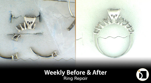 Weekly Before & After #91 - A Shattered Ring Repair