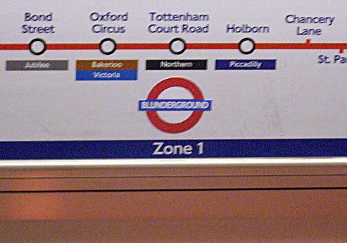 London Blunderground taken by Jo