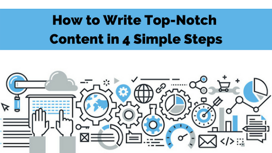 How to Write Top-Notch Content in 4 Simple Steps | Marketing Insider Group