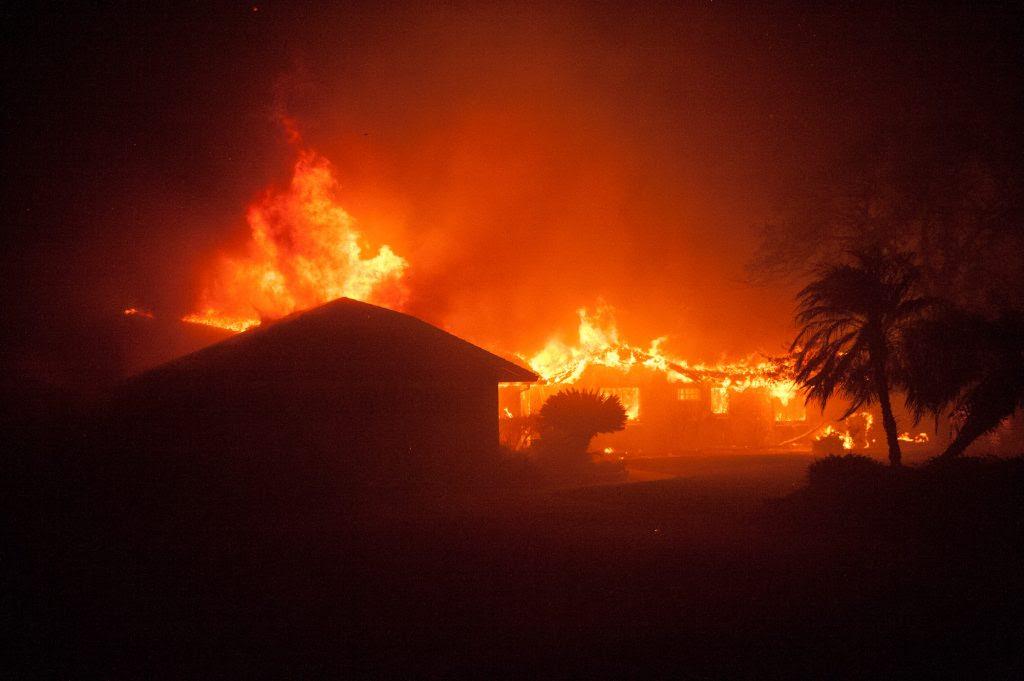 Incêndios na Califórnia em novembro de 2018