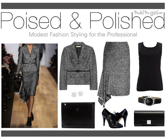 Poised & Polished: Modest Fashion Styling for the Professional