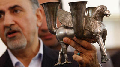 The chalice that helped make possible the Iran nuclear deal