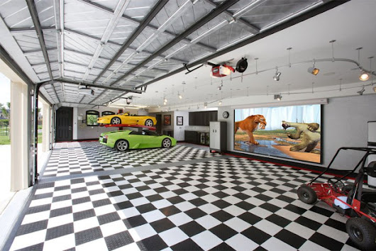 Garage Floor Covering - durability, benefits, paint, tile, epoxy, & renovation