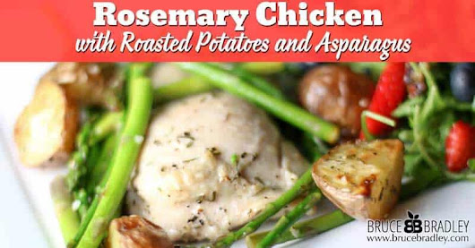 Rosemary Chicken with Red Potatoes and Asparagus