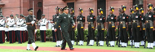 VISIT OF MINISTER OF NATIONAL DEFENCE OF CHINA by Chindits