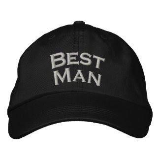 Best Man Embroidered Cute Wedding Hat embroideredhat