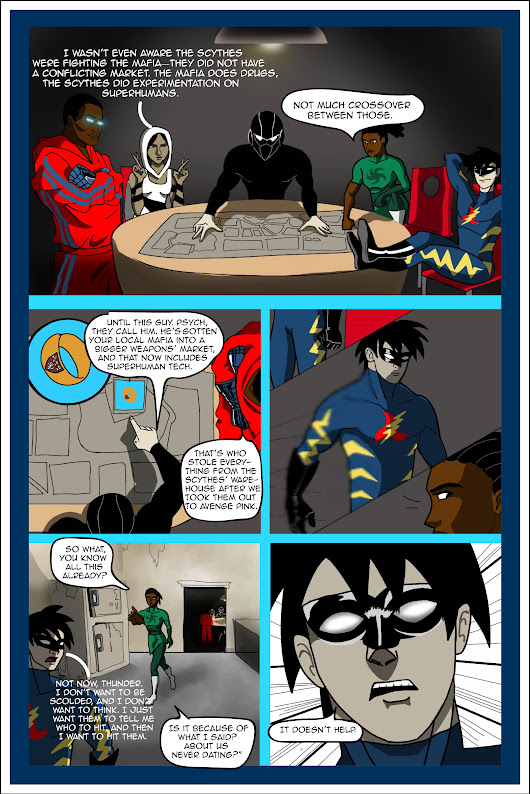 Therapy for Superheroes, Page 3 #comics #becominghero A prequel to the comics character who kills his author.