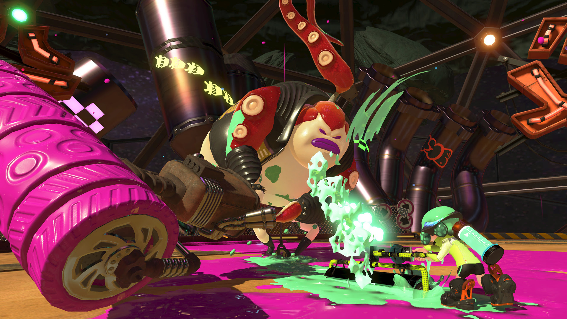 Splatoon 2 is somehow only 3.1GB on Switch, still less than NBA Playgrounds screenshot
